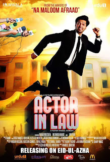 Actor in Law (2016) Pakistani Movie 480p HDRip [700MB]