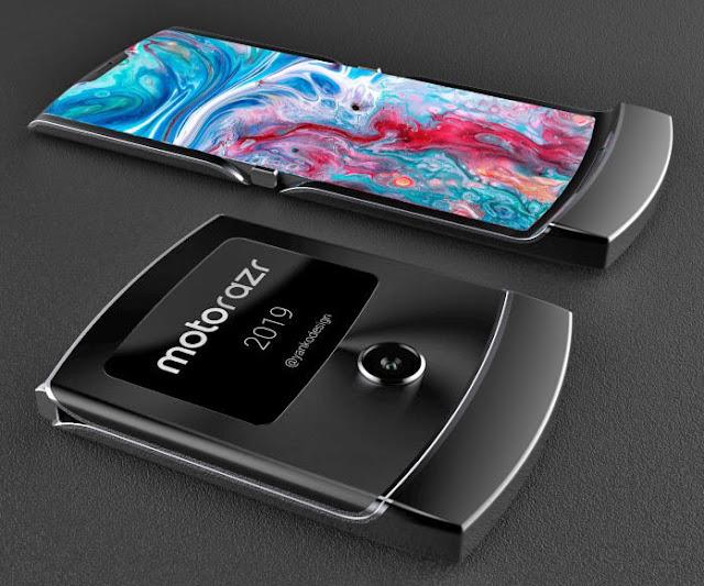 Penampakan Ponsel Lipat Lipat Motorola Razr 2019