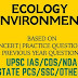 NCERT Based Ecology & Environment Objective pdf Book Download in English