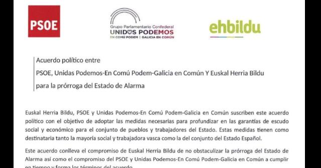 PSOE rectifica el acuerdo con Bildu  Podemos para derogar la reforma laboral de 2012