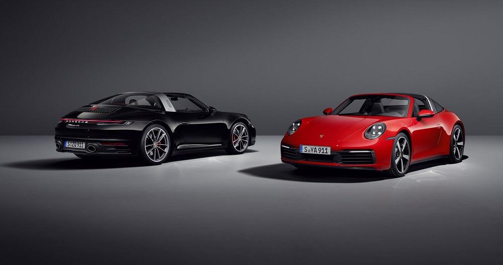 2021 Porsche 911 Targa