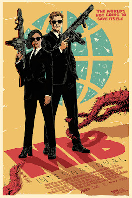 Men In Black: International Movie Poster Screen Print by Francesco Francavilla x Mondo