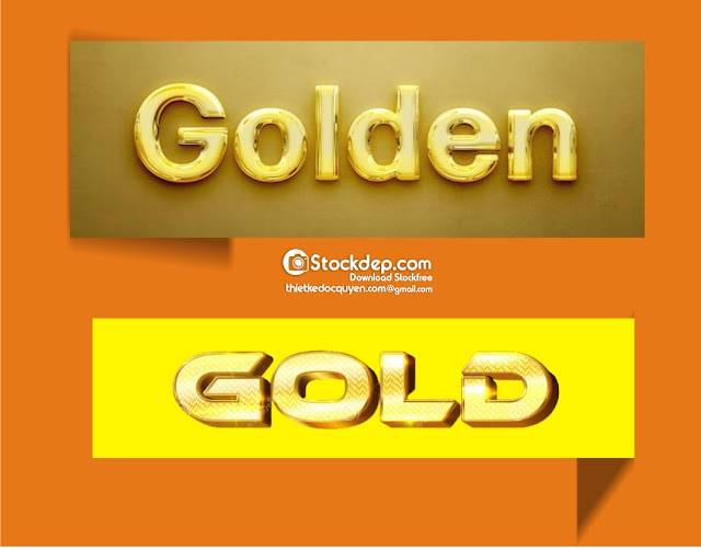 Gold text, shiny gold style editable text effect free