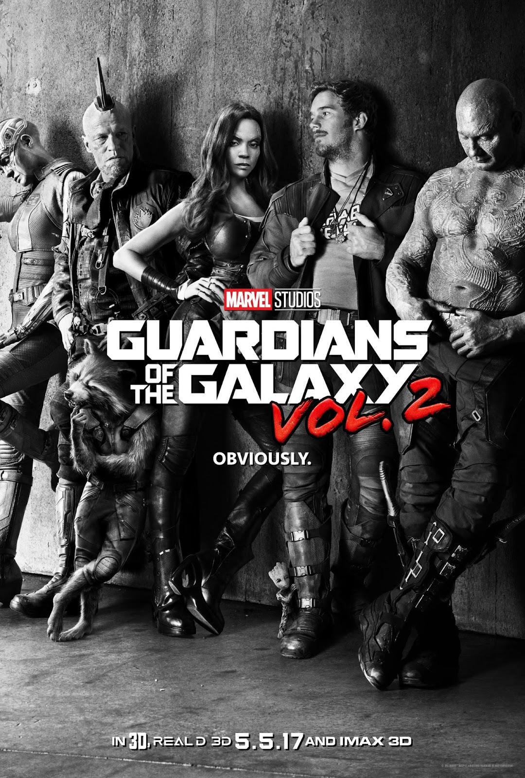 ตัวอย่างหนังใหม่ : Guardians of the Galaxy vol.2 (รวมพันธุ์นักสู้พิทักษ์จักรวาล 2) ซับไทย  poster1