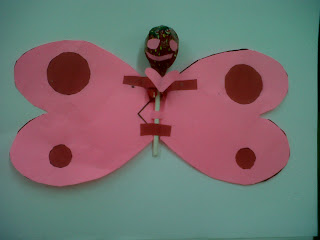 Preschool butterfly craft