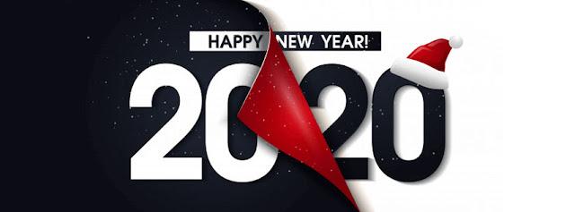 Ảnh bìa happy new year 2020