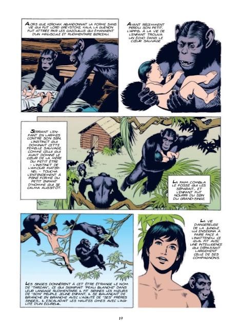 Tarzan Les années comics aux éditions Graph Zeppelin page 19