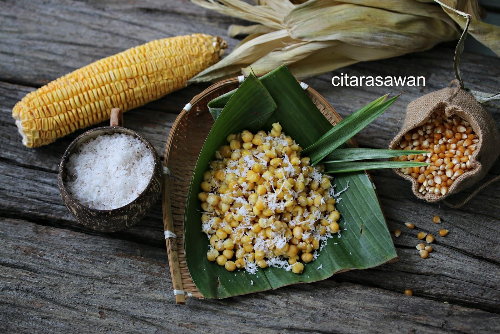 Jagung Unpil Rebus Kelantan Resepi Terbaik