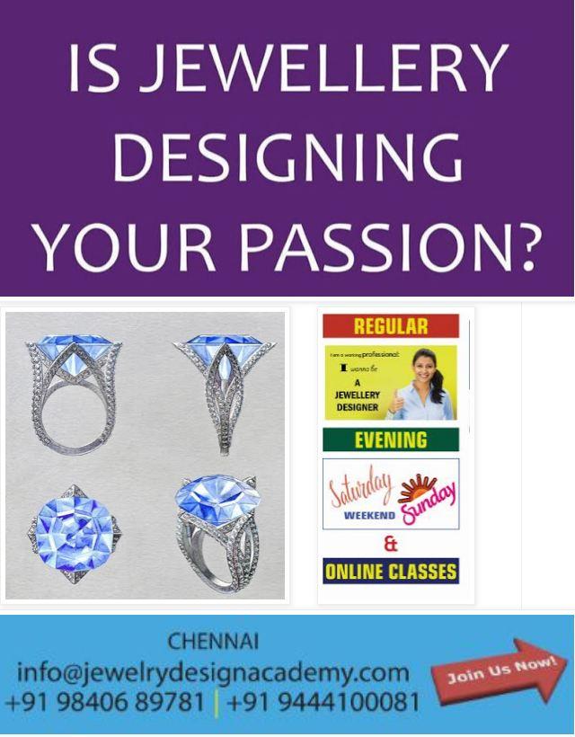 CHENNAI JEWELLERY DESIGN INSTITUTE TRAINING JOBS ...