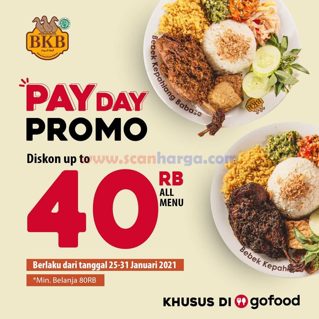 BEBEK BKB Promo Payday Deal Diskon 50% Untuk Semua Menu