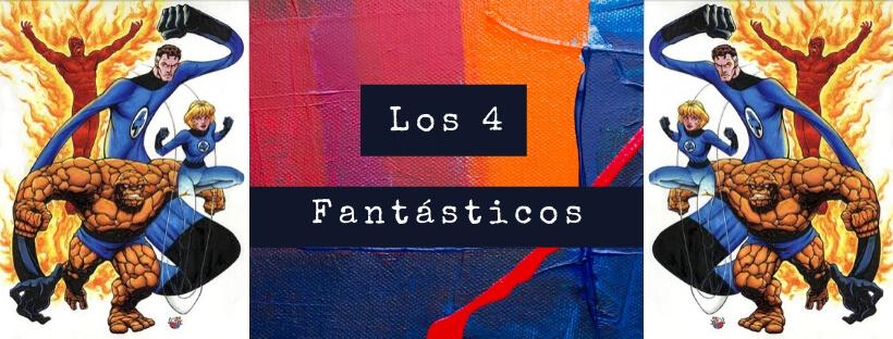 Cartel los 4 fantasticos