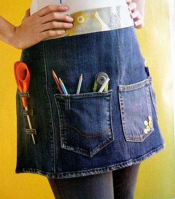 Ideas Para Reciclar Jeans Viejos Construccion Y