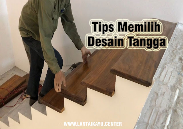 Tips memilih desain tangga minimalis