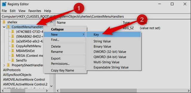 كيفية إضافة خيارات نقل إلى أو نسخ إلى إلى قائمة كليك يمين على ويندوز 10