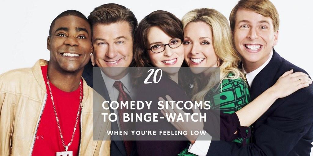 A List of 20 Comedy Sitcoms to Binge Watch