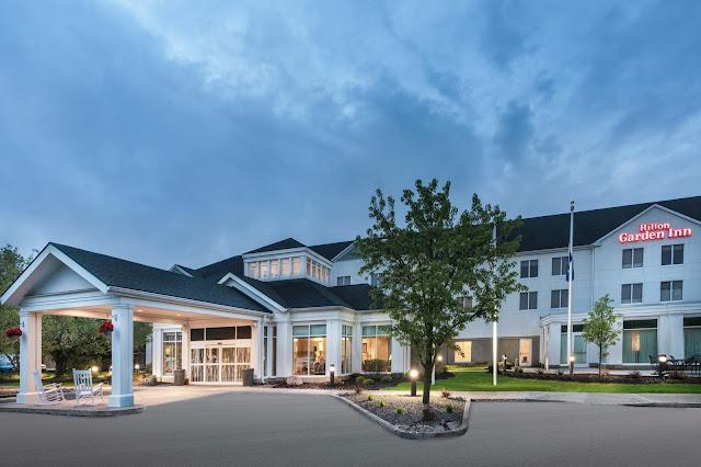 Exterior of Hilton Garden Inn Syracuse