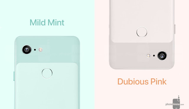 Pixel 3 XL looks gorgeous in Mint and Pink