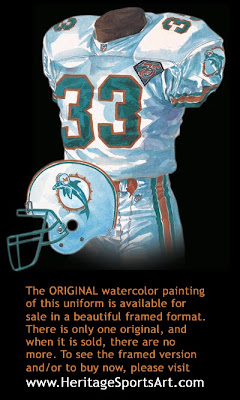Miami Dolphins 1994 uniform
