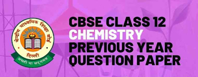 Detailed Solutions for CBSE Chemistry Previous Year Papers All the question papers are solved, and detailed solution for each problem for all sections are given based on Chemistry NCERT Book. Chemistry 2018-2019 Syllabus for class 12 - Solid State, Solutions, Electrochemistry, Chemical Kinetics, Surface Chemistry, Isolation of Elements, p-Block Elements, d- and f-Block Elements, Coordination Compounds, Haloalkanes and Haloarenes, Alcohols, Phenols and Ethers, Aldehydes, Ketones and Carboxylic Acids, Organic Compounds containing Nitrogen, Biomolecules, Polymers, Chemistry in Everyday Life.