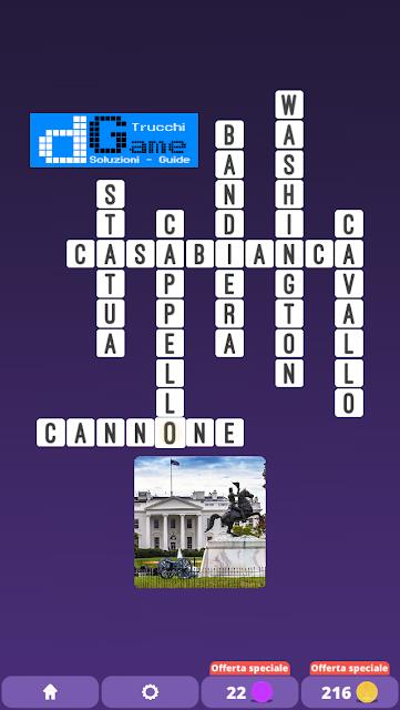 Soluzioni One Clue Crossword livello 13 schemi 4 (Cruciverba illustrato)  | Parole e foto