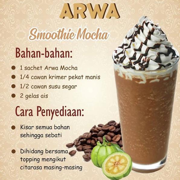 Arwa Coklat Minuman Coklat Tanpa Gula