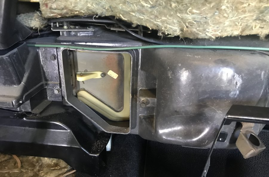 Heater Core Seal with A//C
