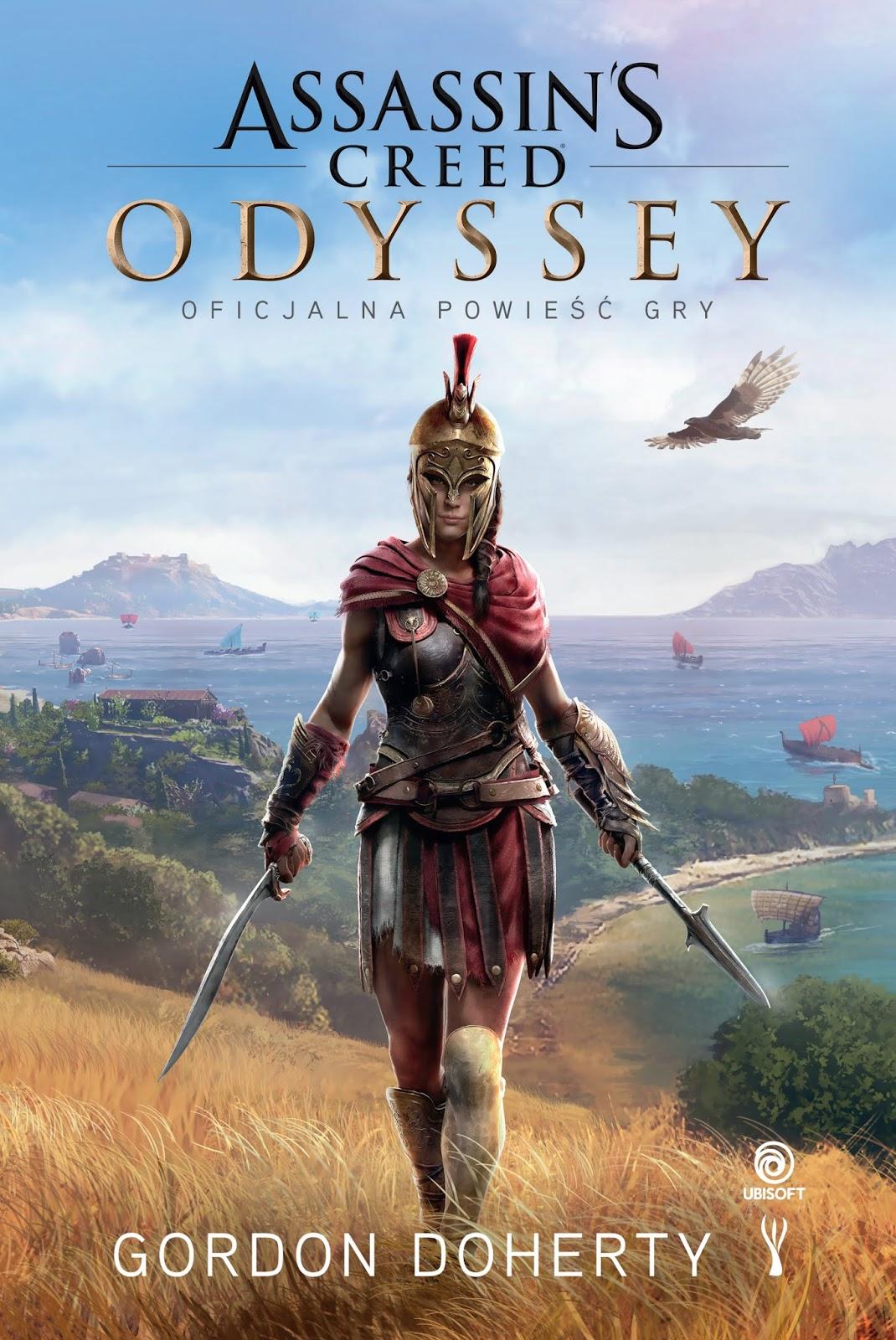 Assassin's Creed: Odyssey. Oficjalna powieść gry. Dziś premiera!