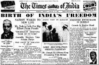 Those 15 days - National Scenario During Independence - 15 (English)