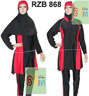 baju renang muslimah syari RZB 868
