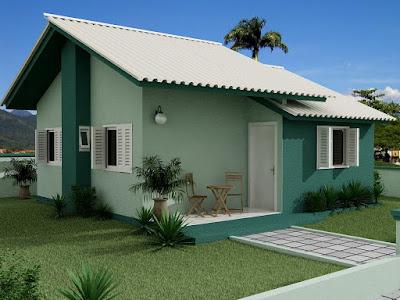 casas pequenas e simples