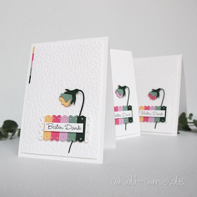 Stiefmütterchen Karten Neue In Color Farben Stampin Up