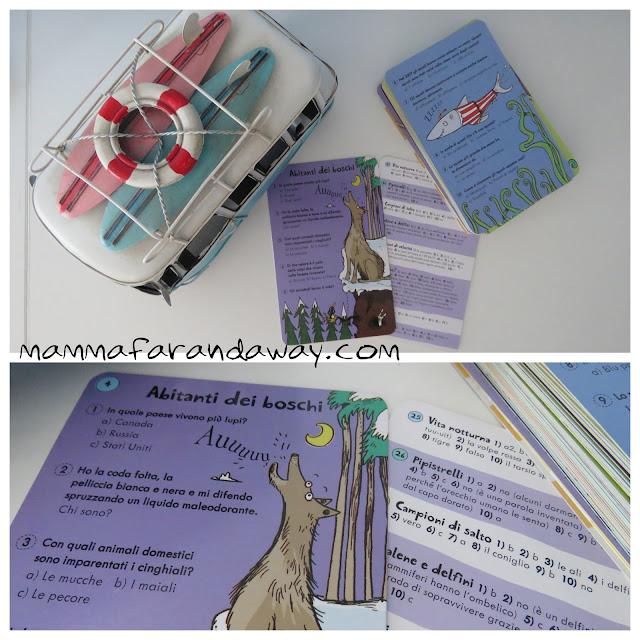 carte gioco da viaggio