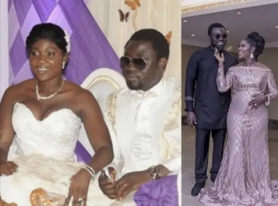 Mercy Johnson Okojie and husband, Prince Okojie, celebrate 9th wedding anniversary