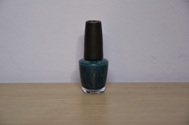 NOTD: OPI Ski Teal We Drop