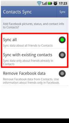 How To Sync Facebook Contacts