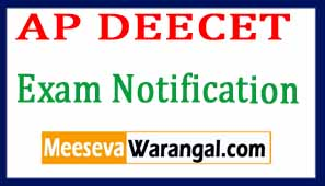 AP DEECET DIETCET 2017 Notification Admitcard Results