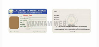 AP Teachers , AP Employees Identity Card (ID Card) generate and Download....