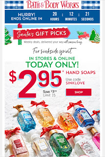 Bath & Body Works | Today's Email - December 12, 2019