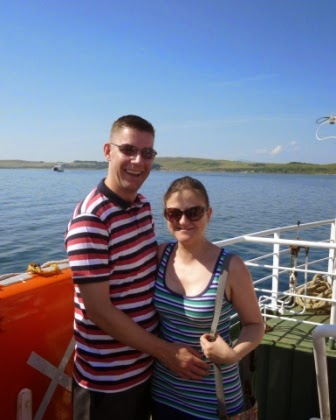On the ferry from Largs to the Isle of Cumbrae