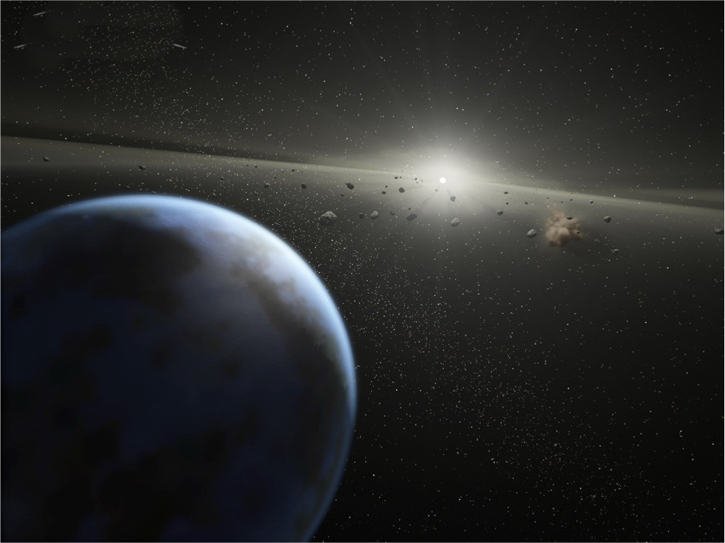 asteroid in space - photo #31
