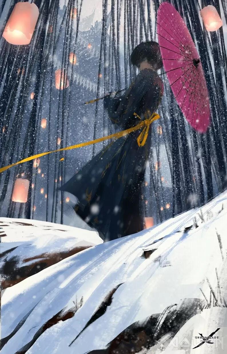 83 AowVN.org m - [ Hình Nền ] Anime Cực Đẹp by Wlop | Wallpaper Premium / Update