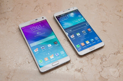Samsung Note 4 Han va My co diem gi noi bat