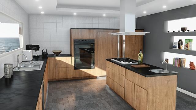 طريقة تنظيف رخام المطبخ