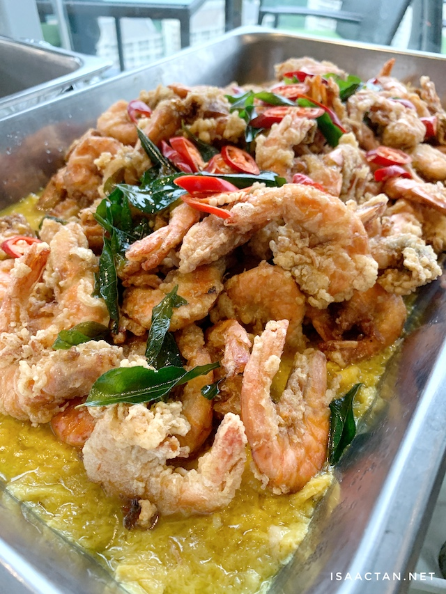Prawn with Butter Sauce