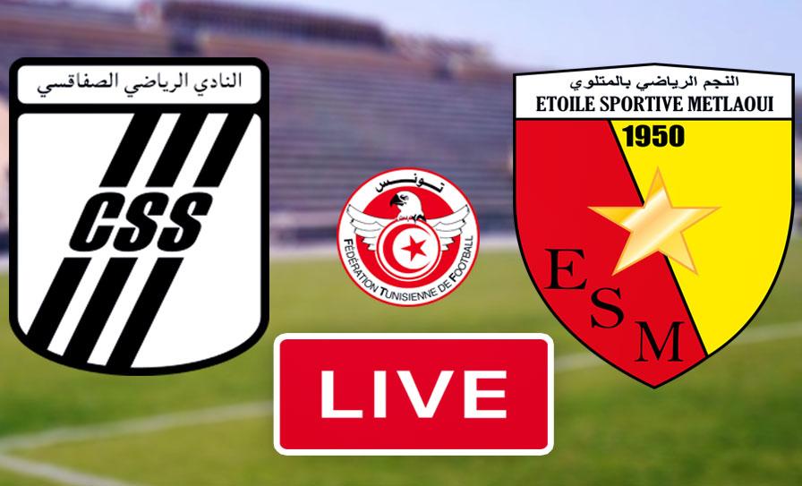 بث مباشر | مشاهدة مباراة مباراة نجم المتلوي و النادي الصفاقسي في كأس تونس