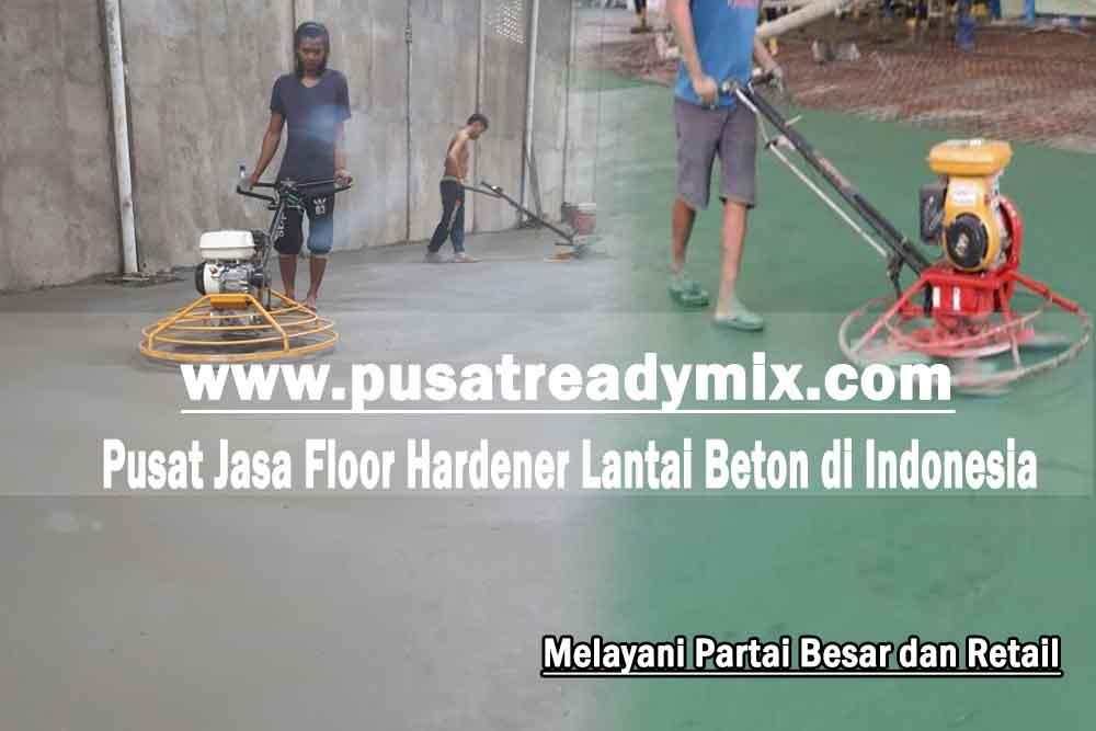 Harga Jasa Floor Hardener Lantai Beton Per Meter 2020