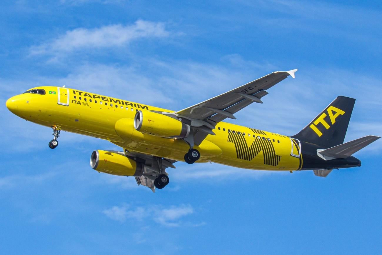 Itapemirim Transportes Aéreos passa a operar em mais Cinco Destinos