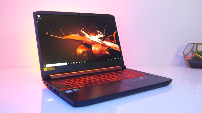 Acer Nitro 7. It is a fair performance gaming laptop with a bad thermal management and below an average battery life. It has an Intel Core i7 CPU with NVIDIA's GeForce GTX 1660 Ti 6GB GDDR6 GPU and 8GB of DDR4 RAM.
