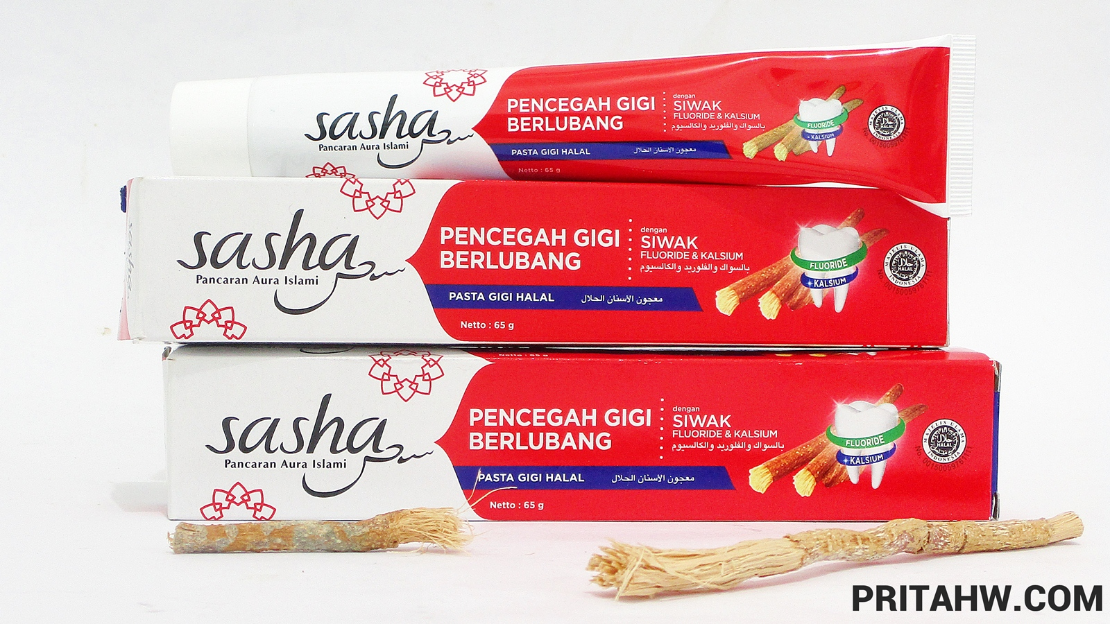 Sasha pasta gigi pencegah gigi berlubang