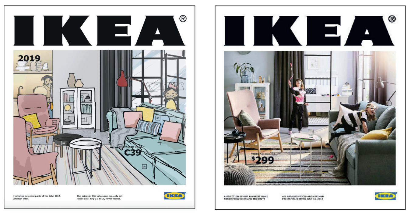 sneak peek 2019 ikea catalogue 12 cool decorating tricks poppytalk. Black Bedroom Furniture Sets. Home Design Ideas